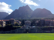 University of Cape Town, i all sin prakt. Foto: Rebecca Moore